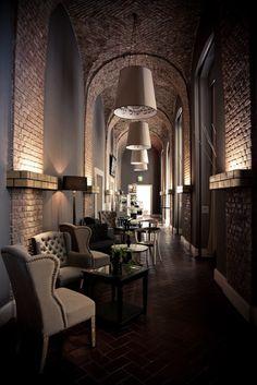 Cafe Schmus interior by NOVONO / Berlin| Humbert Poyet | Restaurant Interior. Interior Design. Modern Interior #interiordesign #moderndecor #restaurantinterior Read more: https://www.brabbu.com/en/inspiration-and-ideas/world-travel/stylish-modern-sofas-astonishing-restaurant-interiors