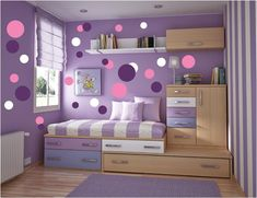 Teen Girl Bedrooms, styling knowledge to get for a super comfy bedroom decor. Simply press the website number 8212344179 this second for bonus clues. Polka Dot Walls, Polka Dot Wall Decals, Polka Dots, Small Room Bedroom, Bedroom Decor, Comfy Bedroom, Bedroom Ideas For Small Rooms For Girls, Small Bedrooms, Girl Bedroom Designs