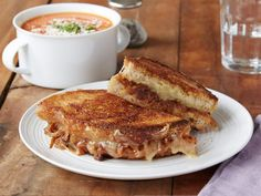 Meatless Monday: Grilled Cheese with Caramelized Onions   Devour the Blog, by Cooking Channel