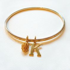 Are you interested in our Hammered Gold Bangle? With our personalised letter gold bangle you need look no further. Stylish Alphabets, Hammered Gold, Gold Bangles, Jewels, My Love, Bracelets, Christmas Ideas, Marriage, Gifts