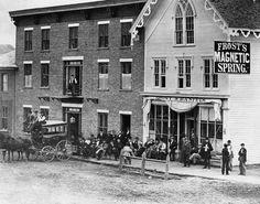 Eaton Rapids, Michigan - 1870.