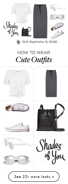 """""""How to Style 15 Cute Summer Outfits"""" by kuhfsbyamyolson on Polyvore featuring WithChic, Converse, Kara and Yves Saint Laurent"""