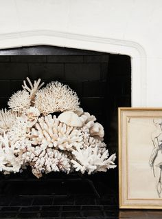 7 Things I Learned from Reese Witherspoon's Decorator, Mark D. Sikes - Deck out your fireplace from InStyle.com