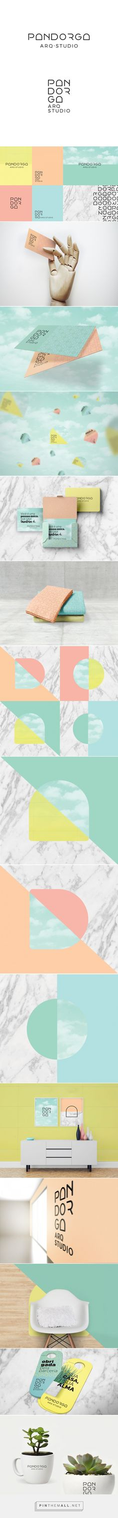Pandorga Branding on Behance   Fivestar Branding – Design and Branding Agency & Inspiration Gallery
