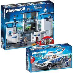 Playmobil Neuve 4023 Police Boîte Fourgon De PXukZi