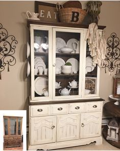 Before And After China Cabinet I Use Valspar Chalk Paint. One Thing I Love  The Most Is Flipping Furniture This Is One Of The Pieces I Did This Last  Summer