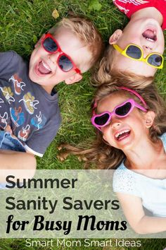 Summer sanity savers for busy moms to keep your kids busy and active all summer   summer activities   summer fun   summer days   #summersanitysavers, #summerfun, #summeractivities