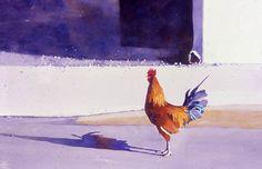 Mark Mehaffey achieving dramatic paintings
