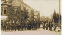 Heelweg ,Kwikkelstraat  grens met Suderwick 1915