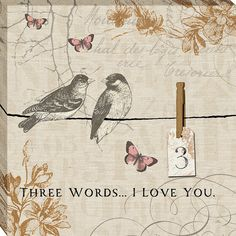 Words that Count III by Pela Graphic Art on Wrapped Canvas