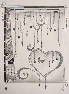 Zentangle dangles