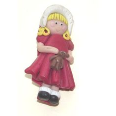 Handmade Little Girl Brooch, Cute Girl Brooch - Unique Listing in the Pins & Brooches,Fashion/Costume Jewellery,Jewellery & Watches Category on eBid United Kingdom   156765885