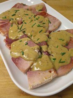 Jambon blanc grillé, sauce au Porto 24 viande