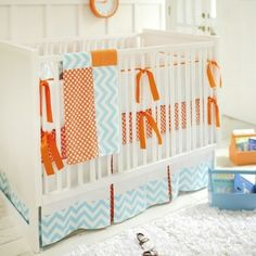 Bring refined style to your nursery with the New Arrivals 2-Piece Crib Set.