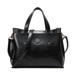 $27.80 (Buy here: https://alitems.com/g/1e8d114494ebda23ff8b16525dc3e8/?i=5&ulp=https%3A%2F%2Fwww.aliexpress.com%2Fitem%2F2014-classical-casual-women-leather-handbag-messenger-bags-genuine-leather-lady-bag%2F1668796231.html ) HOT!  Winter Leather Women's Handbag Ladies Tote Messenger bag Shoulder Business OL Office Bag Black Brown Blue Red Bolsas for just $27.80