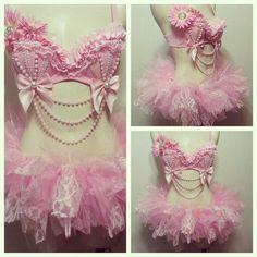 Rave Bra - Baby Pink