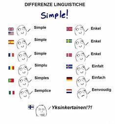 Funny lol -- Very yksinkertainen finnish language Daily Funny jokes