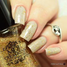 MDJ Creations Fairytale Flakies Collection | Polish and Paws