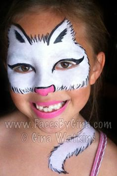 DIY Cat Face Paint #DIY #Cats #Halloween #HalloweenCostumes #Costumes #FacePainting #Birthdays #Birthday #Parties #Party