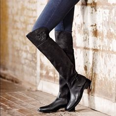 25b535c470f78 ❤️Sale❤️Tory burch black over-the-knee boots
