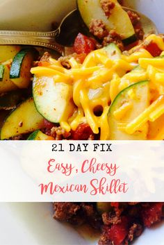 21 Day Fix Mexican Skillet