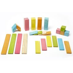 Tegu | Magnetic Wooden Building Blocks | 24-piece Set