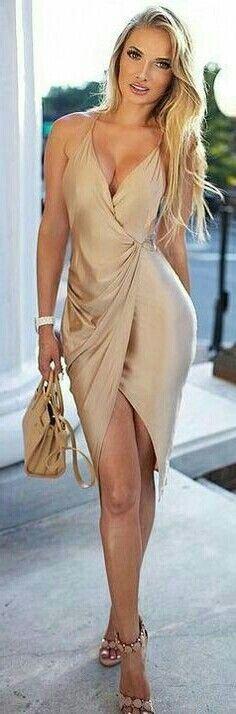Gold Dress ....
