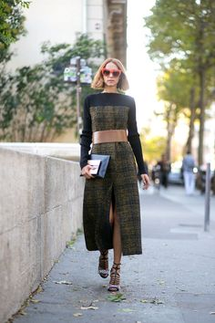 Paris Fashion Week Spring 2016 Street Style by photographers: Diego Zuko, Adam Katz, Phil Oh, Kuba Dabrowski