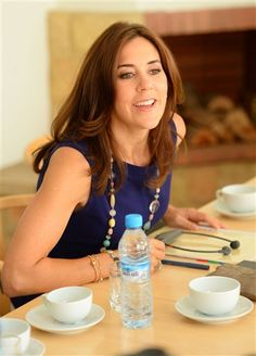 Denmark's Crown Princess Mary visits Rabat violencia de género