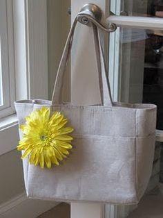 drop cloth bag