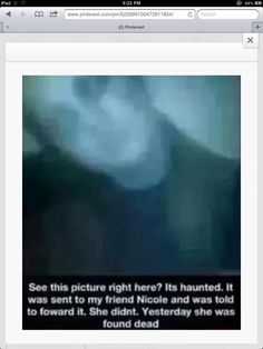 Yea thez aren't real but they freak me out so im gonna REPOST it anyway
