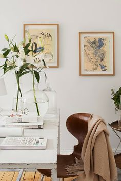 A fresh, white Stockholm apartment