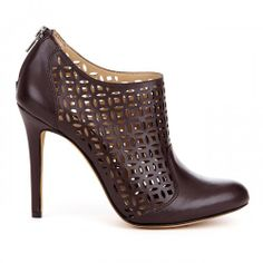 Zaily laser cut bootie - Oxblood They hurt my feet these days but I still have shoe lust