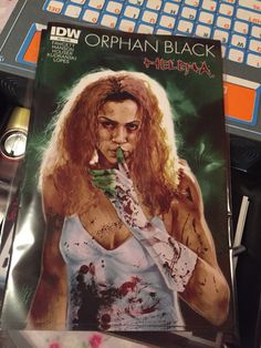Orphan Black comic // issue #2 Helena