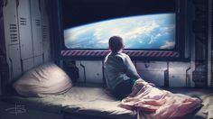 picture prompt: Who is he? why is he on the ship? Is he leaving or is he…