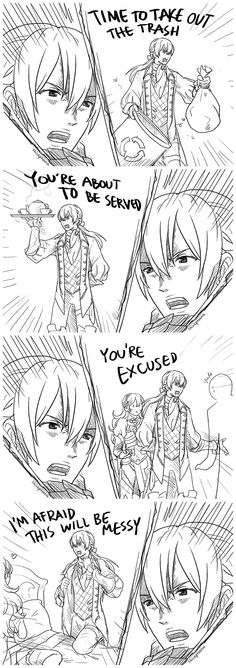 Jakob critical hit battle quotes - This is hilarious, dont get the last panel though - I think I get it now, I'm internally cringing