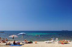 Rocky, gravelly and concrete beaches @ Resort Villas Rubin in Rovinj!