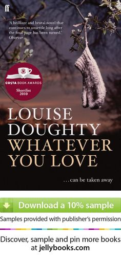 Gift for Mother's Day this Sunday: 'Whatever You Love' by Louise Doughty - Download a free ebook sample and give it a try (before you decide on buying it as a gift ;) ! Don't forget to share it, too.