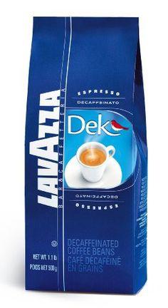 Lavazza Dek Decaf Whole Bean Espresso, 1.1-Pound Bag