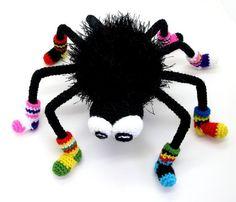 Funny Spider pdf crochet toy pattern  RENEWED by mashutkalu, $4.00