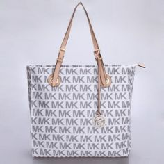 Michael Kors Jet Set Travel Travel Tote Small Signs of white - Totes