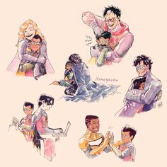 Superhero Family, Bat Family, Tim Drake, Batfamily Funny, Bat Boys, Batman Universe, Joker And Harley Quinn, American Comics, Dc Heroes