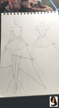 fashion sketches Fashion Drawing Figure Art 52 Ideas - Source by - Dress Design Drawing, Dress Design Sketches, Fashion Design Sketchbook, Fashion Design Drawings, Art Sketchbook, Fashion Sketches, Fashion Illustrations, Illustration Fashion, Ski Drawing