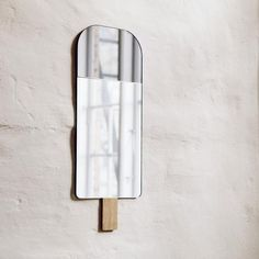 Ice Cream Mirror by Tor & Nicole vitner Servé EO Children- A large selection of Design on Smallable, the Family Concept Store - More than 600 Spiegel Design, Kids Wall Decor, Danish Design, Stores, Colored Glass, Decoration, Candle Sconces, Glass Vase, Ideas