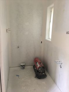 Bathroom all ready for the Tiler to begin