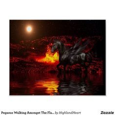Free Image on Pixabay - Lava, Sun, Flame, Lake, Water Celtic Fantasy Art, Free Pictures, Free Images, Horse Tips, Modern Artwork, Shades Of Red, Pegasus, Lava, Serenity
