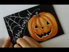 ハロウィン!HALLOWEENに描きたくなるチョークアート(黒板アート)