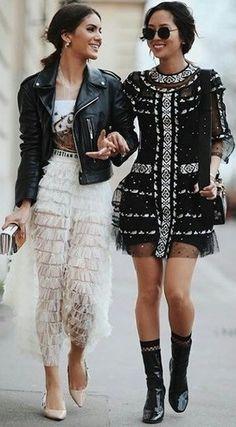 Street Style ~Camila Coelho&Aimee Song.