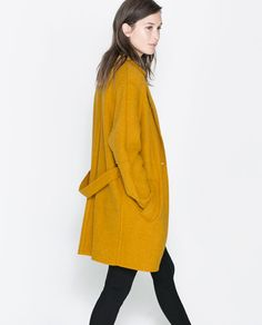 WOOL COAT from Zara. If someone finds the same coat in black or gray, please, let me know!!!