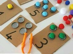 You are in the right place about Montessori Materials 3 year old Here we offer you the most beautifu Preschool Learning Activities, Preschool Curriculum, Infant Activities, Preschool Activities, Kids Learning, Dinosaur Activities, Free Preschool, Kids Crafts, Numbers Preschool